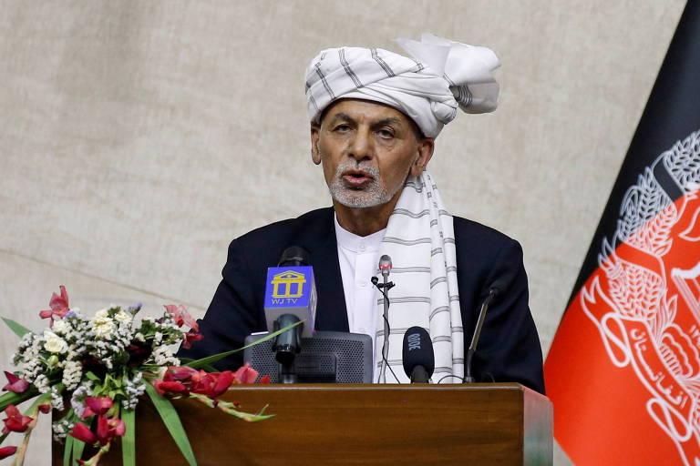 Presidente do Afeganistão que fugiu do Taleban está exilado em Abu Dhabi