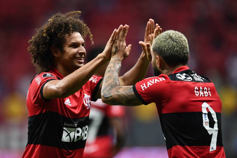 Flamengo confirma sua vaga, e Atlético-MG enfrenta o Palmeiras na semi da Libertadores