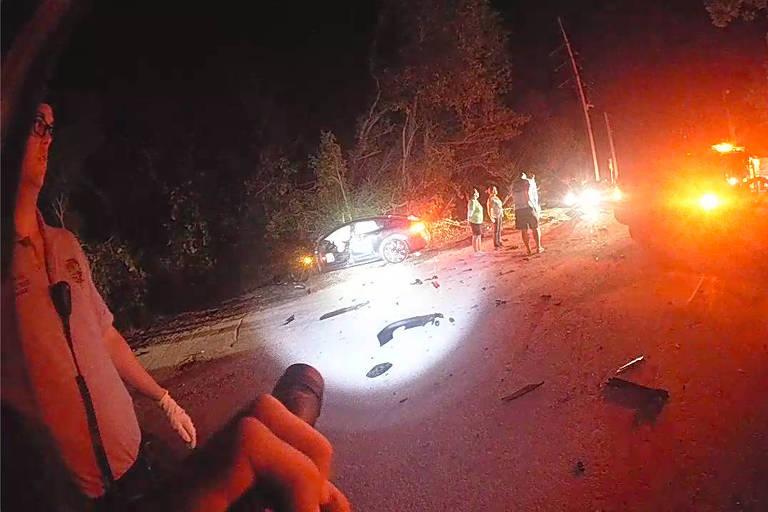 'Aconteceu tão rápido': por dentro do acidente com carro autônomo da Tesla
