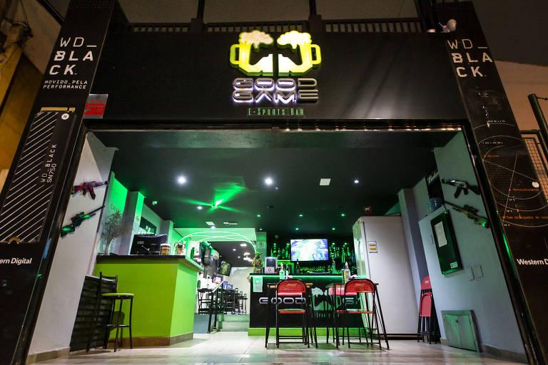 Good Game E-Sport Bar é um espaço totalmente dedicado ao universo gamer
