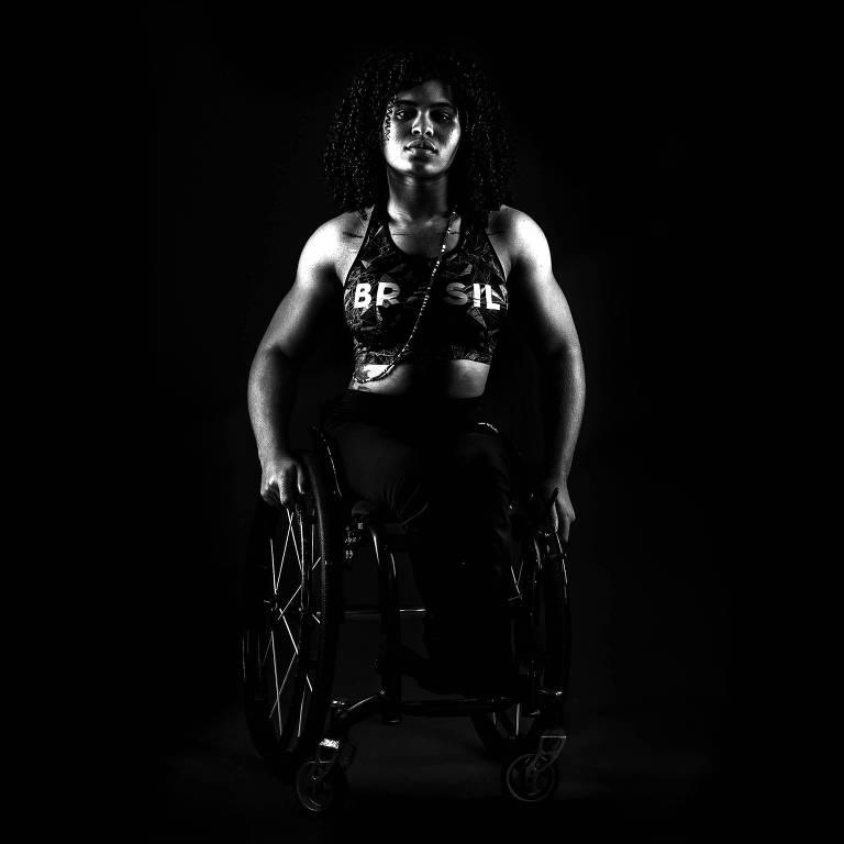 Ensaio com atletas paraolímpicos do Brasil
