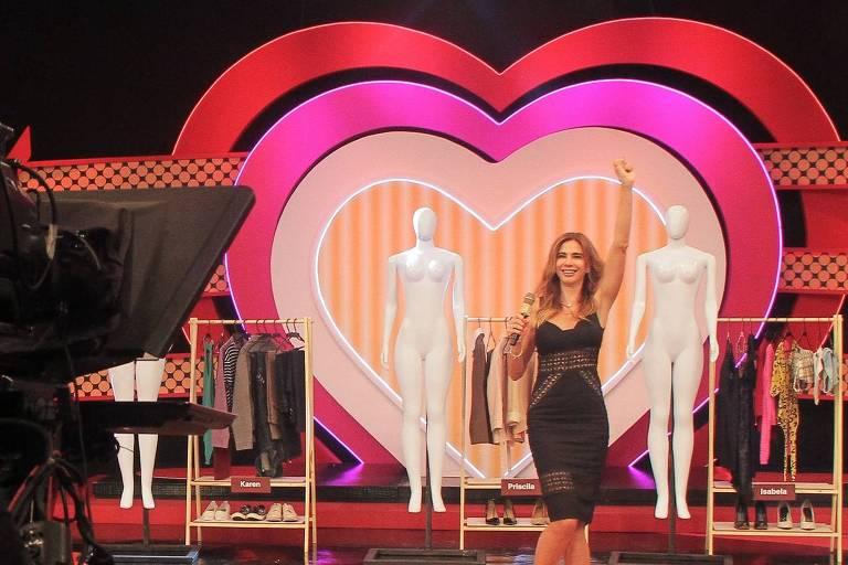 Luciana Gimenez grava o piloto de seu novo programa