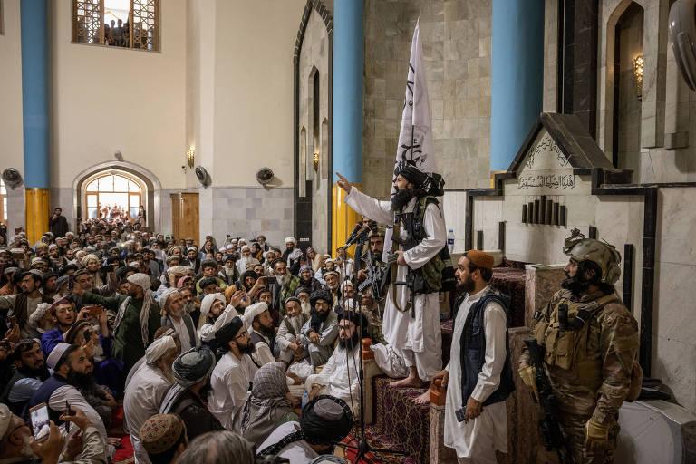 Talibã coloca grupo terrorista para cuidar da segurança da capital do Afeganistão