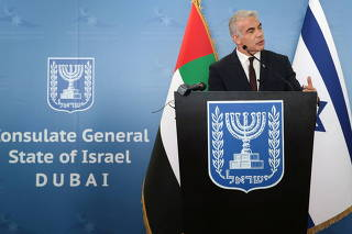 Israeli foreign minister visits UAE