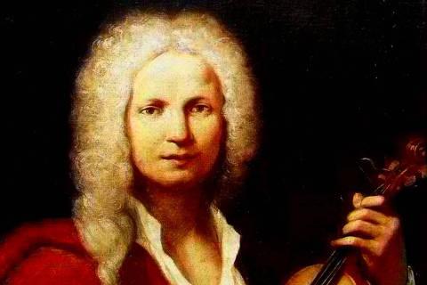 Pintura óleo sobre tela do músico Antonio Vivaldi - Web Stories