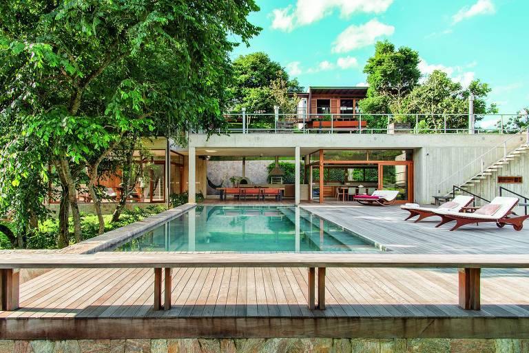 Casa para aluguel em Santo Antônio do Pinhal (SP),  ofertada pela agência de turismo de luxo Matueté