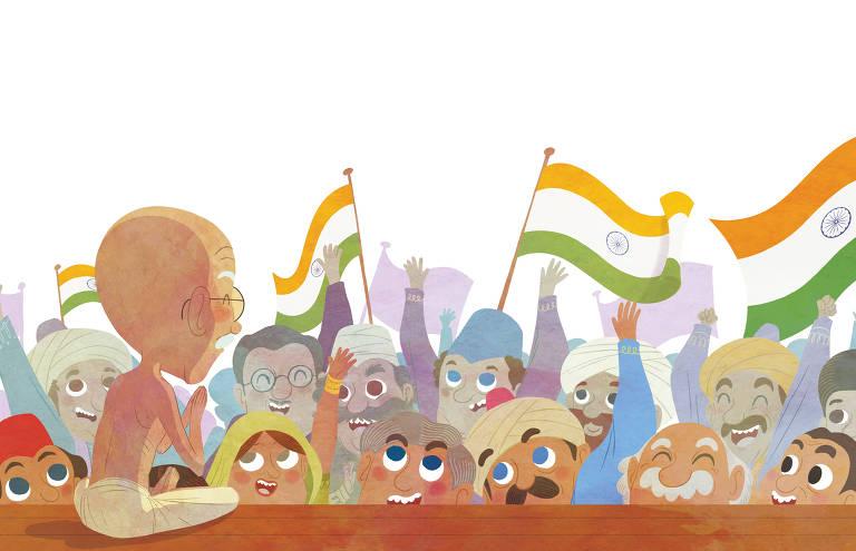 ilustração de livro infantil