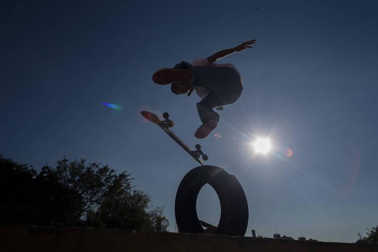 Pistas de skate na periferia de SP estão longe de uma medalha