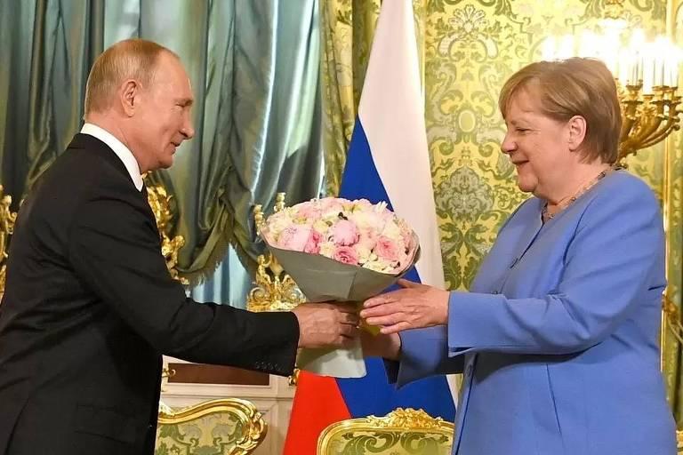 Gasoduto com a Rússia de Putin é legado mais polêmico de Angela Merkel