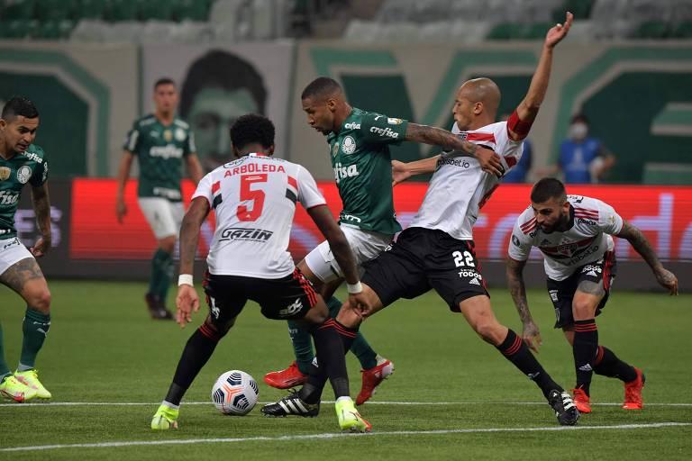 Santos e São Paulo tentam reagir no Brasileiro após eliminações continentais