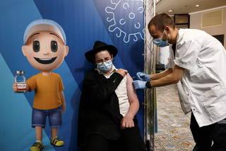 FILE PHOTO: COVID-19 vaccinations in Jerusalem