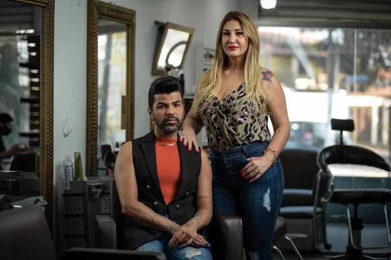 Corte de cabelo e manicure ficam para depois e salões de beleza sofrem com crise prolongada