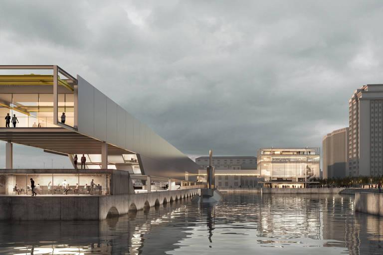 Museu Marítimo gera debate sobre influência ao remeter a Paulo Mendes da Rocha