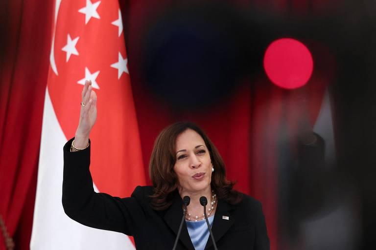 Kamala viaja à Ásia para reafirmar importância dos EUA após fracasso no Afeganistão