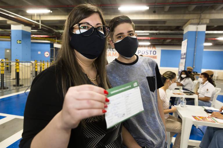Adesão de jovens à vacina contra a Covid continua baixa na capital paulista