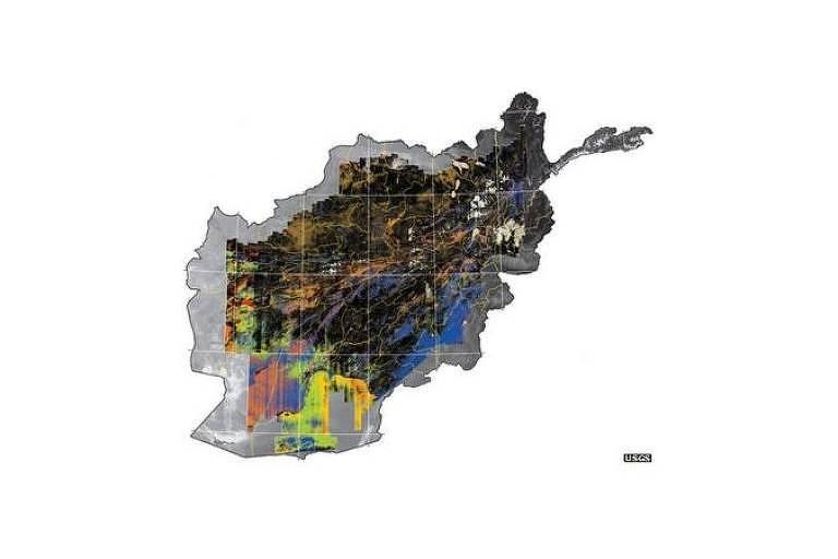 O esforço gerou um mapa com mais de 800 milhões de pixels, onde estariam potenciais reservatórios de minérios, o que corresponde a uma área de 440 mil quilômetros quadrados, cerca de 70% do país