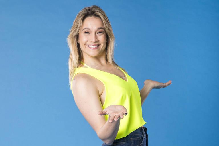 Novo programa de Fernanda Gentil terá Marco Luque e brincadeiras infantis