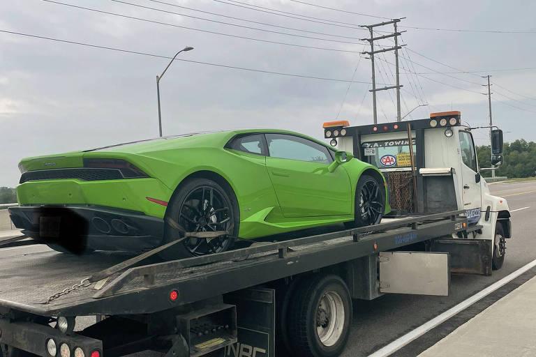 Homem tem prejuízo de mais R$ 100 mil após alugar Lamborghini; entenda