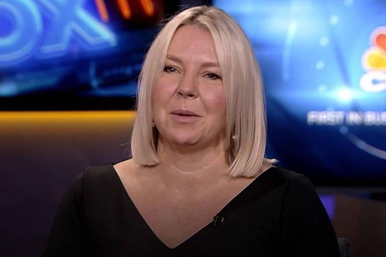 Claire Darley, vice-presidente da empresa de software Adobe's Europe