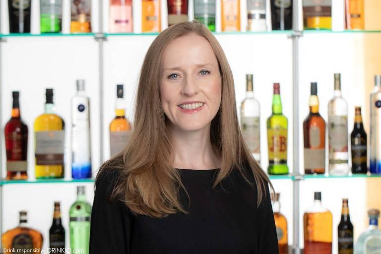 Mairead Nayager, chefe global de RH da empresa de bebidas Diageo