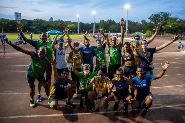 Brasil tem 5ª maior delegação nas Paraolimpíadas de Tóquio