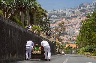 CARREIROS DO MONTE ILHA DA MADEIRA PORTUGAL