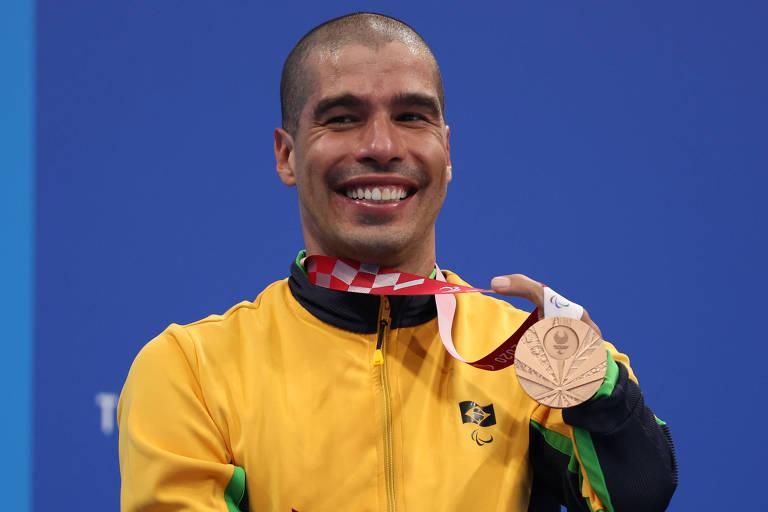 Daniel Dias defende reivindicações dos paralímpicos após deixar as piscinas