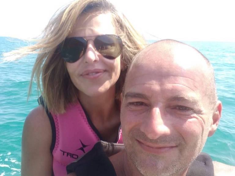 O casal Cristiane Nogueira e Leonardo Andrade, vistos pela última vez no domingo em Ilha Grande (RJ)