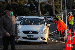 NEW ZEALAND-AUCKLAND-EXTENDED LOCKDOWN