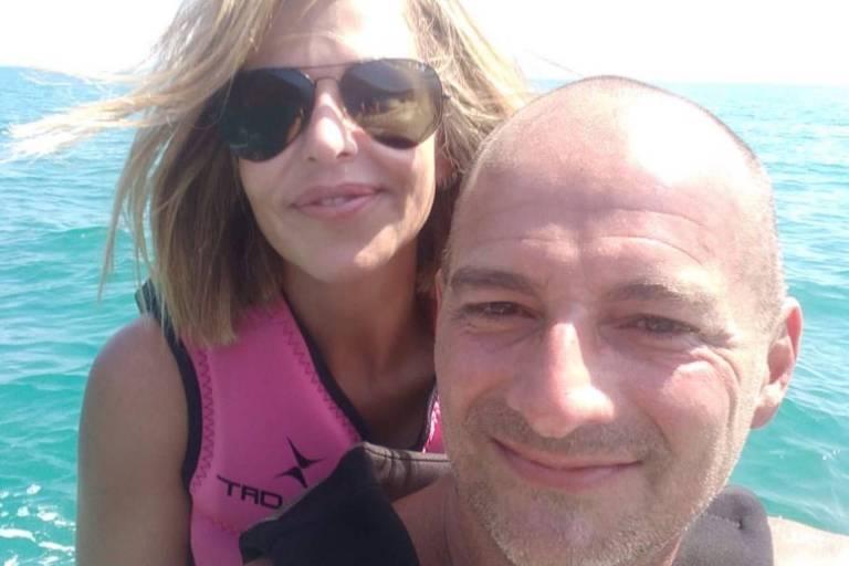 Cristiane Nogueira e Leonardo Andrade, que foram vistos pela última vez no dia 22 em Ilha Grande (RJ)