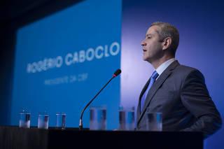 ROGERIO CABCLO PRESIDENTE DA CBF