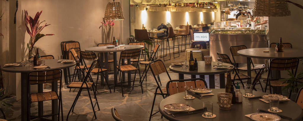 Novo restaurante Mi•Ado, da chef Renata Vanzetto, nos Jardins