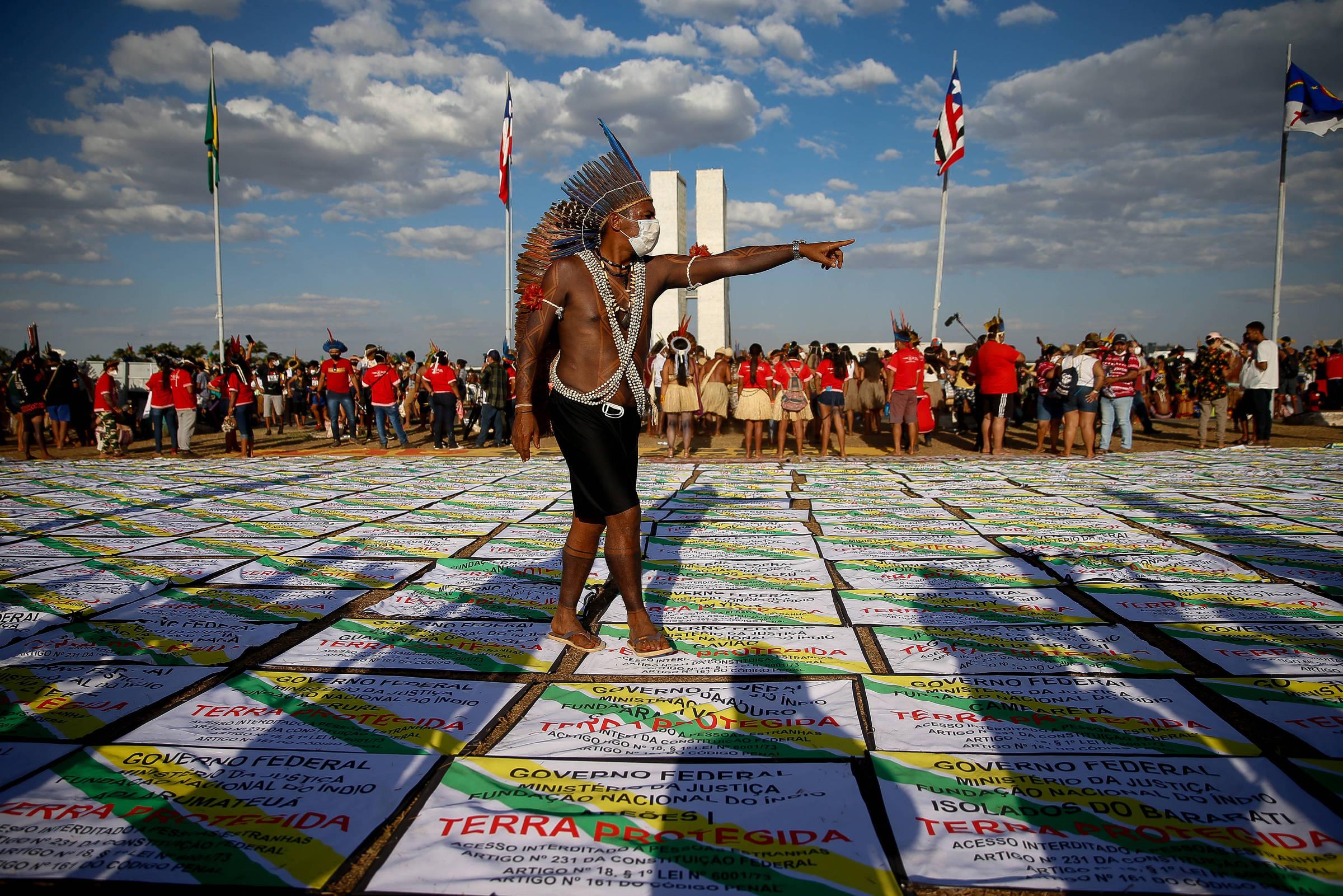 Presidente da Funai provoca investigação da PF contra servidor que defendeu índios