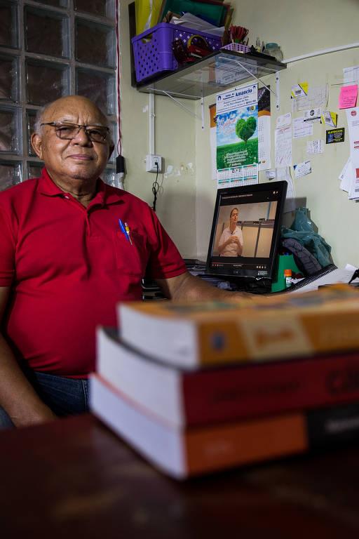 José Passos dos Santos, 79, estudante de Engenharia Elétrica