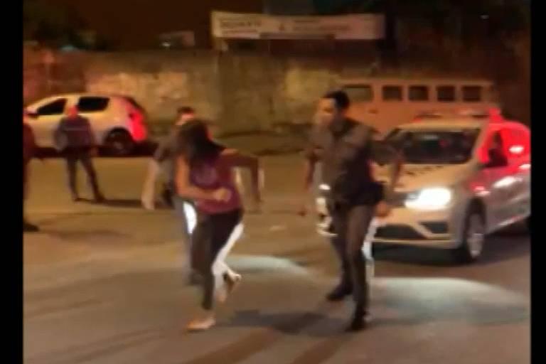 PM de SP afasta 7 agentes após abordagem violenta em Santo André; veja vídeo