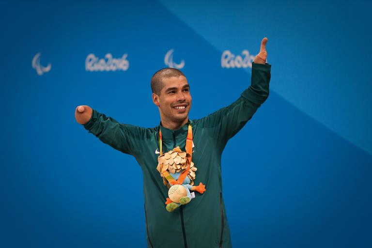 A trajetória de glórias e conquistas do nadador paralímpico Daniel Dias