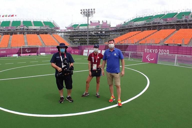 Futebol de 5 paralímpico busca o penta em Tóquio, a partir deste sábado