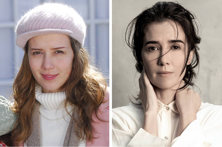 Antes e depois dos atores da novela Duas Caras