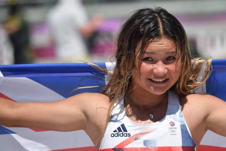 Sky Brown se inspira em Rayssa e quer dobrar diversão nas Olimpíadas de 2024