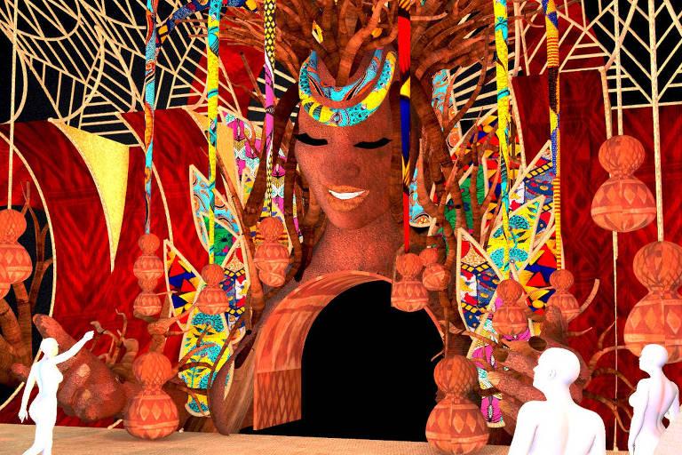 Exposição em SP quer fazer viagem multissensorial no tempo para contar história da população afro-brasileira