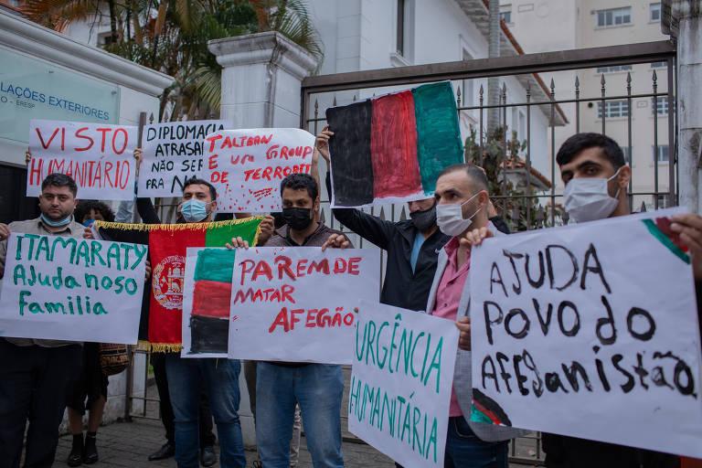 Empresa afegã pede que Brasil acolha 400 refugiados resgatados de Cabul