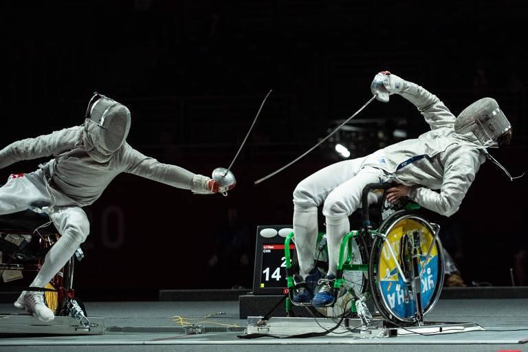 Veja as imagens da semana Paraolímpica