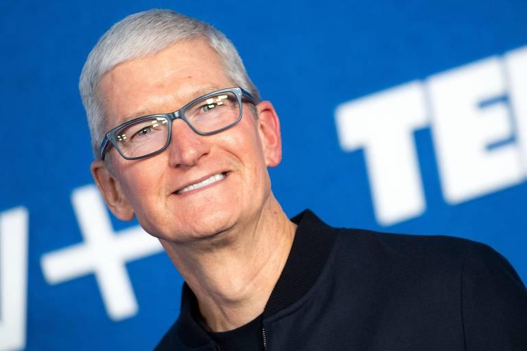 Tim Cook vende US$ 750 milhões em ações da Apple depois de completar uma década como chefe