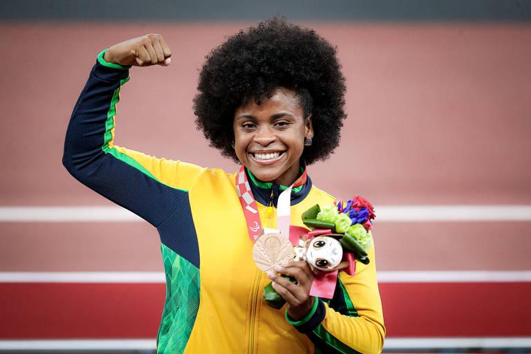 Conquistas de mulheres marcam dia com 6 medalhas do Brasil nas Paralimpíadas