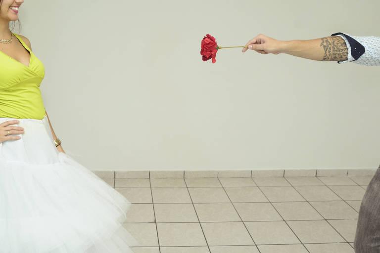 Ari & Paula: o pedido de casamento antes do primeiro beijo