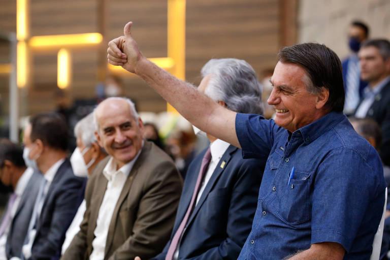 Bolsonaro participa culto durante 1º Encontro Fraternal de Líderes Evangélicos, em Goiânia