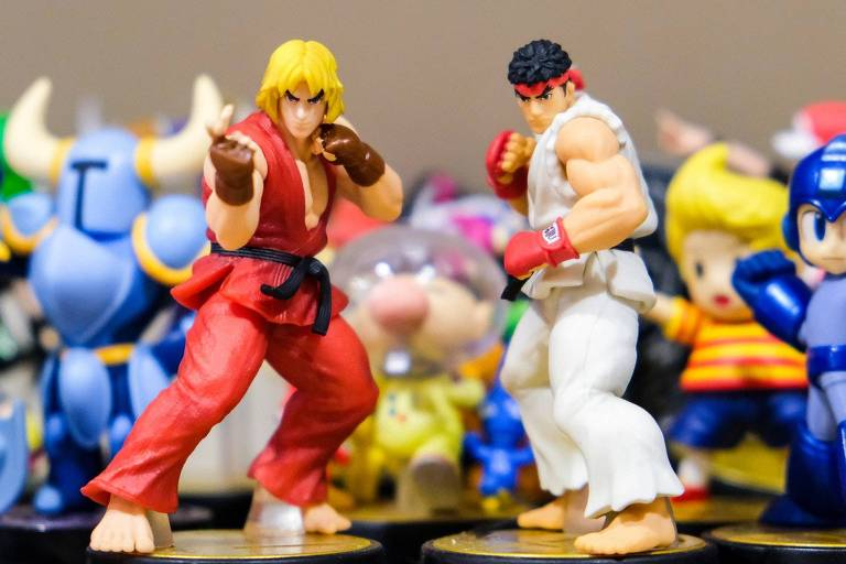 A história de Street Fighter
