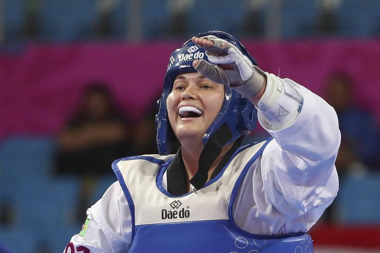 Débora Menezes passou por vários esportes antes do taekwondo paralímpico