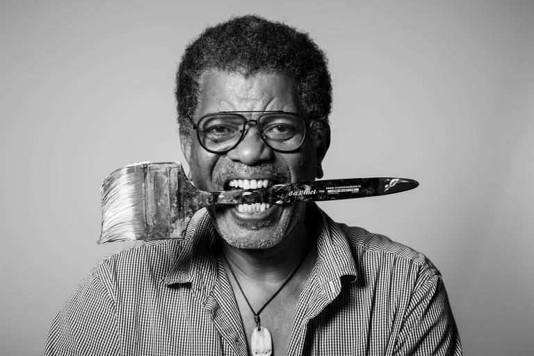 Arjan Martins reinventa o modo de representar pessoas negras nas artes plásticas