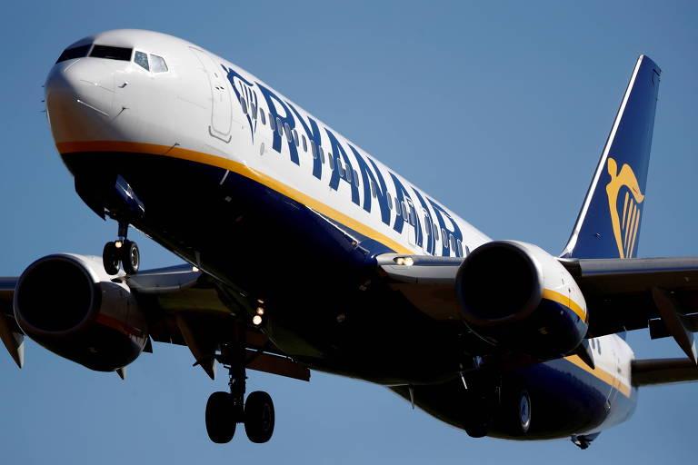 Companhia aérea de baixo custo Ryanair vai contratar 500 profissionais para retomada